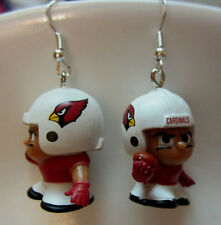Nora Winn Unique Arizona Cardinals 925 Earring Nfl Little Men Teenymates