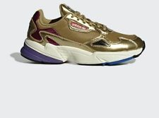 WOMENS ADIDAS ORIGINALS FALCON TRAINERS GOLD CG6247  UK SIZES 4-7   RRP £85