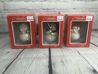 Dept 56 Snowpinions Set Of 3 Ornaments Christmas