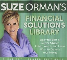 SUZE ORMAN'S Financial Solutions Library 9 DVD Set BEST of SUZE'S ADVICE -Sealed