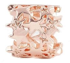 Rose Gold Stars Bead Charm For Endless Story Bracelet Jewelry
