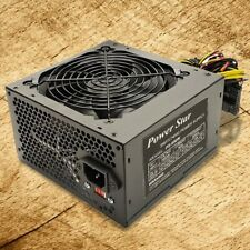 Brand NEW--Power-Star 650W-Max 12-CM FAN ATX Power Supply w/20+4pin, SATA & PCIe