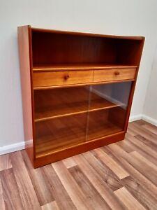 Nathan Teak Bookcase/ Display Cabinet