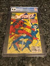 X-FORCE #11 FIRST APPEARANCE OF DOMINO CGC 9.6 !!!ALL CGC FREE SHIPPING IN STORE