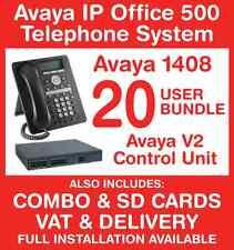 Avaya IP Office Phone System - 20 user bundle - Includes VAT