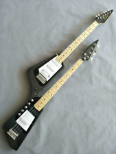 DOUBLE NECK GUITAR & BASS (designed to play guitar and bass together)