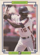 FREE SHIPPING-NRMINT-1984 Donruss Champions #2 George Foster NY Mets (3.5X5 CARD