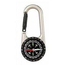 Compact Hiking Military Army Survival Camping Scout Cadet Carabiner Compass NEW
