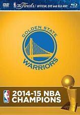 2015 NBA Champions Golden State Warriors Region BLURAY & DVD Set
