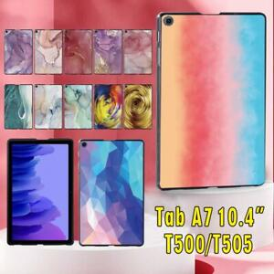 "Fits Samsung Galaxy Tab A7 10.4"" T500 T505 Slim Hard Shell Case Cover +stylus"