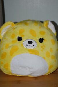 "BNWT SQUISHMALLOWS Kellytoy - 8"" Lexie The Cheetah! New!"