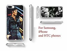 Elvis Presley Inspired phone case legend Rock Quote for Samsung iPhone and HTC