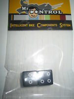 Pair of Black Dice Cycle Bike Car or Motorbike Dust Valve Caps