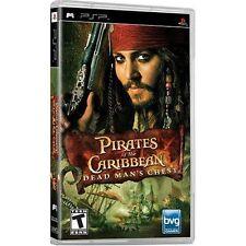 Pirates Of The Caribbean Dead Man's Chest Sony For PSP UMD Disney 2E