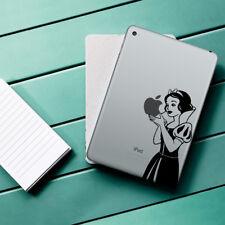 SNOW WHITE Apple iPad Decal Sticker fits iPad Mini, iPad Air & iPad Pro models