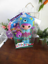 Lalaloopsy Furry Grrs-A-Lot Full Size Mga 2014 Nib Furry Blue Monster Hoodie