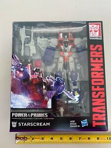 Transformer Generations - Power of the Primes - STARSCREAM - Voyager -NEW -00210