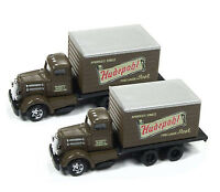 Classic Metal Works N 50374 White WC22 Box Truck Hudepohl Beer. New