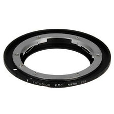 Fotodiox Objektivadapter Pro Nikon Linse für Canon EOS Kamera