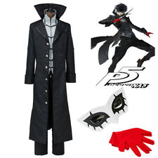 Anime Persona 5 Cosplay Costume Joker Full Set Uniform