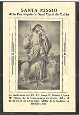 Holy card antique lamina de Jesus  santino image pieuse estampa