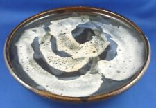 Retro DOROTHY MAYNARD AUSTRALIA Unique ABSTRACT Drip Glaze POTTERY Dish - In Aus