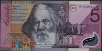 AUSTRALIA 2001 COMMEMORATIVE $5 FIVE DOLLAR NOTE TWO  CONSECUTIVE BANKNOTES UNC