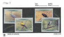 Canada Sc  1774-7 - 1999  Birds of Canada 4a   VFU