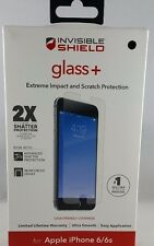 Zagg 2X Invisible Shield Plus Tempered Glass Screen Protectors for iPhone 6/6s/7