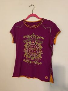 Double D Ranchwear Embroidered And Embellished Top EUC