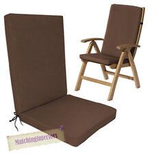 Chaise de jardin de jardin et de terrasse marron