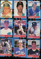 1988 DONRUSS BASEBALL COMPLETE SET 1-660 + STAN MUSIAL PUZZLE + BONUS CARDS 1-26