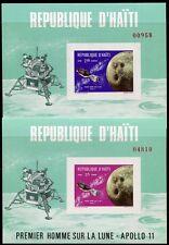 Haiti 1969 Raumfahrt Space Weltraum Espace Block 41-42 Postfrisch MNH