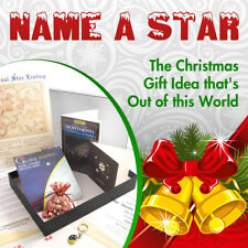 NAME A STAR SET - PERSONALISED AND FRAMED (IN SUPERB GIFT BOX)