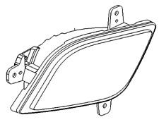 VAUXHALL REAR FOG LAMP - GENUINE NEW - 95390338