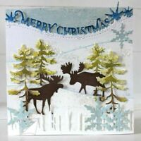 Merry Christmas Lace Metal Cutting Die DIY Album Stencil Embossing Craft