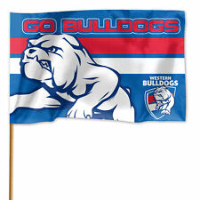 Western Bulldogs Official AFL Game Day Flag 60cm X 90cm