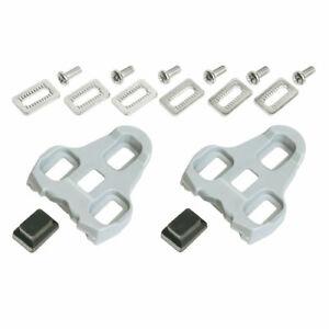 Schuhplatten für Look Keo grau 4,5° Bewegungsfreihei  Pedalplatten Sohlenplatten