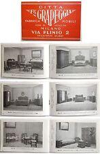 Catalogo F.lli GRAPEGGIA Fabbrica Mobili MILANO Via Plinio 2 - Anni'30