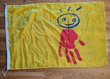 Canadian Children's Museum Flag Old Logo Hand Print of History Gatineau Canada