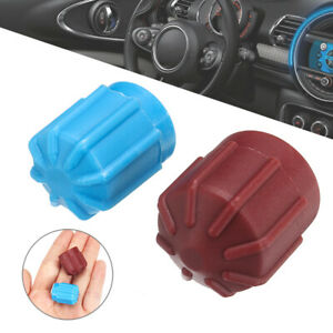 2x Car Air Condition Refrigerant Valve Cap Hi/Low Voltage R134a A/C Dust Cover