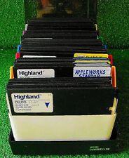 Vintage Apple II GS Floppy Disks Lot Appleworks Pageview Verbatim