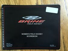 Brine Women's Field Hockey Scorebook