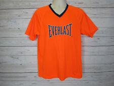 Everlast Men's Orange V-Neck T-Shirt Size: M