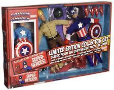 "Diamond Select Toys Marvel Retro Captain America Action Figure Set, 8"""