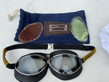 Chapal Leather Brown Goggles Vintage 300 Euro New