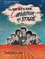 LLOYD PRICE SIGNED 1959 DICK CLARK CARAVAN OF STARS TOUR PROGRAM BOOK / VG 2 NMT