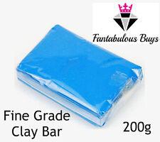 Premium FINE Grade Clay Bar 200g Car Detailing Brake Dust Tree Sap Cleaning Wash