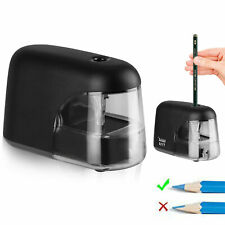 Electric Pencil Sharpener Automatic Battery Operated Office School Classroom Usa