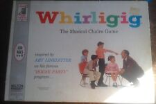 Vintage 1963 Milton Bradley Whirligig The Musical Chairs Game Great Condition